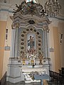 Eglise Saint-Pierre de Castellar (autel Vierge).jpg
