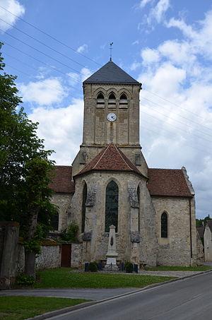 Barzy-sur-Marne - The Saint Eloi church