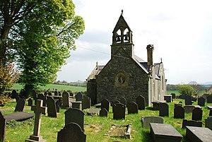 St Sadwrn's Church, Llansadwrn - Image: Eglwys Sadwrn Sant St Sadwrn's Church Llansadwrn geograph.org.uk 408878