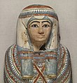 Egyptian - Mummy and Painted Cartonnage of an Unknown Woman - Walters 791 - Detail A.jpg