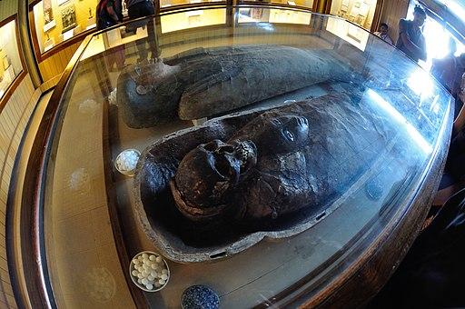 Egyptian Human Mummy - Egyptian Gallery - Indian Museum - Kolkata 2014-02-14 3293