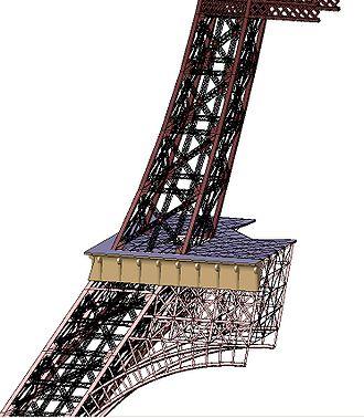 CATIA - Image: Eiffel CATIA Leg