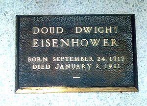 Doud Eisenhower - Grave of Doud Dwight Eisenhower in Eisenhower Center