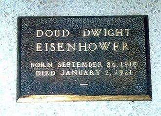 Doud Eisenhower - Grave of Doud Dwight Eisenhower in Eisenhower Center