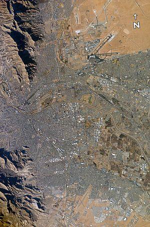 El Paso–Juárez - Image: El Paso Juarez EO