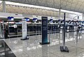 El Al check-in counters at VHHH T1 (20180903152254).jpg