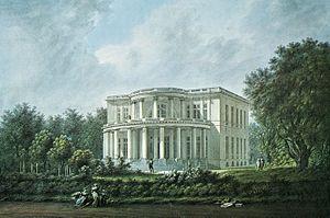 Elbchaussee - Villa Brandt (Säulenhaus)