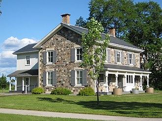 Malvern, Toronto - Elderslie House, built in 1864. Malvern was first settled in the mid-1850s.