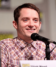 Elijah Wood vid San Diego Comic-Con International 2011.