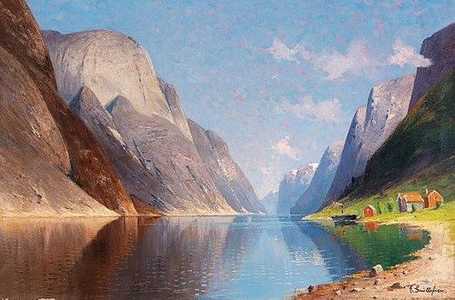 Elisabeth Grüttefien-Kiekebusch - Fjord Landscape.jpg