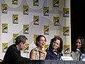 Eliza Dushku, Sigourney Weaver, Zoe Saldana (3750771031).jpg