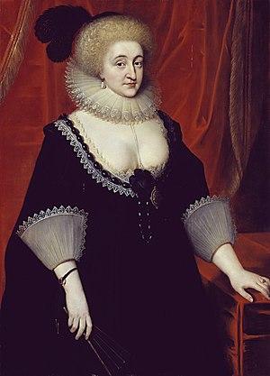 Elizabeth Grey, Countess of Kent - Portrait of Elizabeth Grey by Paul Van Somer, ca. 1619