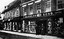 Le magasin Burberry   Sons sur Haymarket, à la fin du XIX siècle 07628f87464