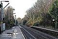 End of platforms, Eccleston Park railway station (geograph 3795605).jpg