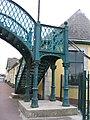 Ennis Station, Iron cast small bridge - geograph.org.uk - 296734.jpg