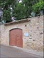 Entrée privée de la maison de Gala Dali devenue musée.JPG