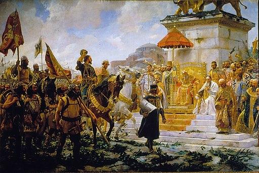 Entrada de Roger de Flor en Constantinopla (Palacio del Senado de España)