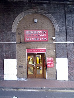 Entrance to Brighton Toy and Model Museum.jpg