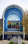 Entrance to the National Museum of the US Air Force, Dayton, Ohio. (27260641827).jpg