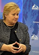 Erna Solberg: Alter & Geburtstag