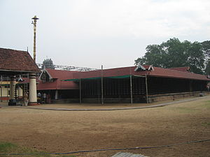 Ernakulam Shiva Temple - The temple is an example of Kerala temple architecture