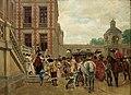 Ernest Meissonier - La llegada al castillo.jpg