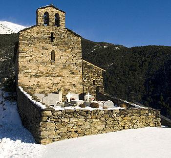 Català: Església de Sant Serni de Nagol