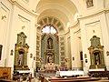 España - Madrid - Iglesia Parroquial de San Sebastián - Interior.JPG