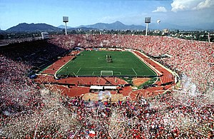 Estadio Nacional de Chile in Santiago de Chile
