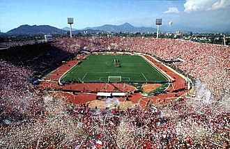 1962 FIFA World Cup - Image: Estadio Nacional de Chile 2