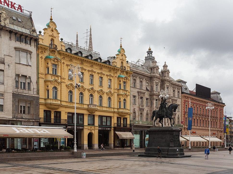 Estatua de Ban Jelacic, Zagreb, Croacia, 2014-04-20, DD 03