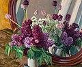 Eugeniusz Kazimirowski - Bzy i tulipany przed lustrem.jpg