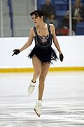 Evgenia Medvedeva at the Autumn Classic International 2018 - Short program 02.jpg