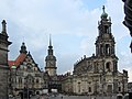 Exterior of the Hofkirche (Dresden) - panoramio.jpg
