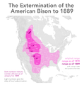 Extermination of bison to 1889.png