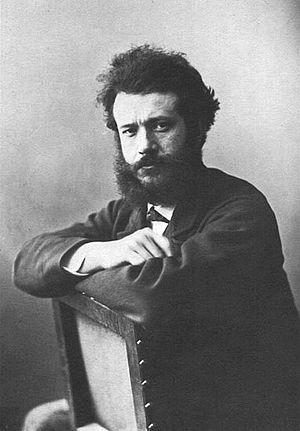 Félix Bracquemond - Félix Bracquemond (1865) by Nadar.