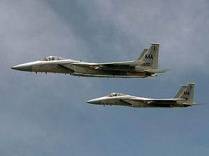 101st Intelligence Squadron - F-15's From Otis