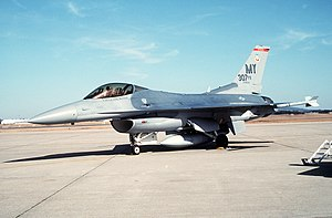 F-16C Fighting Falcon of 307th FS at Andrews AFB 1993.JPEG
