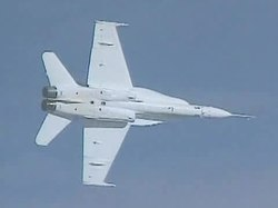 Tiedosto:F-18A Active Aeroelastic Wing flight test.ogv