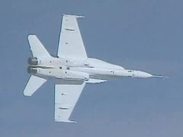 File:F-18A Active Aeroelastic Wing flight test.ogv