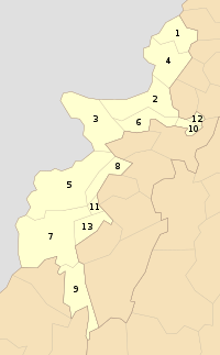 FATA Districts.svg