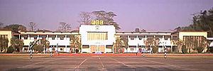Faujdarhat Cadet College - The academic block