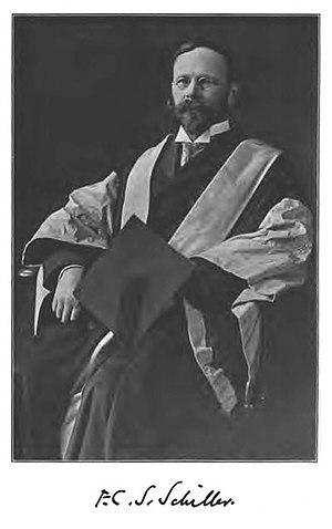 F. C. S. Schiller - Image: FCS Schiller Slosson 1917
