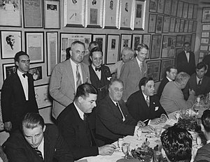 Robert Maestri - Maestri to the right of FDR at Antoine's