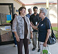FEMA - 37480 - A resident and FEMA representative at a Town Hall Meeting in Texas.jpg