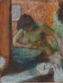 FEMME À SA TOILETTE Edgar Degas.PNG