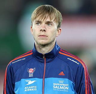 Símun Samuelsen Faroese footballer