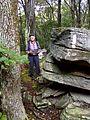 FLT M27 15.7 mi - Rocky Point scenic rocks atop hill - panoramio.jpg