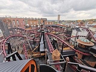 F.L.Y. (roller coaster) Flying roller coaster at Phantasialand