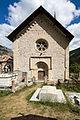 Façade de l'église Saint-Pierre-et-Saint-Paul, Saint-Paul-sur-Ubaye, France.jpg